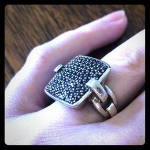 ✨😍John Hardy😍✨ black sapphire ring